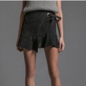 J.O.A. - Corduroy Wrap Around Skirt